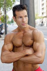 portrait fitness male