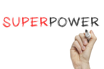 Hand writing superpower