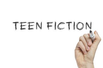 Hand writing teen fiction
