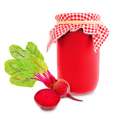 Beetroot jar