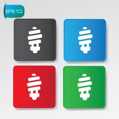 Light buttons,vector