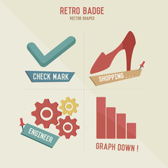 Shopping business icons,vector