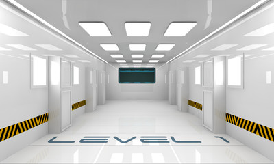 Futuristic interior level 1