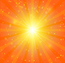 Abstract sunshine vector background