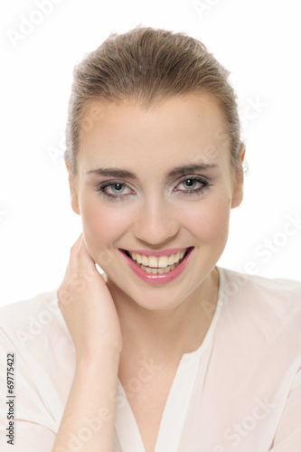 poster of attractive, beauty, esthetic, medicine, face, smile, women