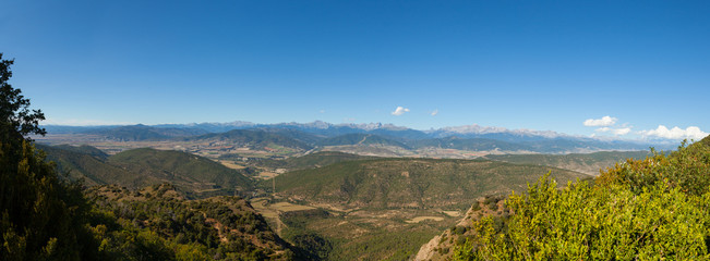 The Pyrenees from a Viewpoint