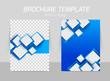 Zdjęcia na płótnie, fototapety, obrazy : Flyer template back and front design