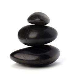 Shinny pebbles balance. Spa and healthcare concept.