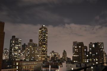Cloudy New York Night