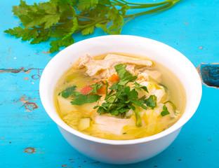 fresh homemade soup