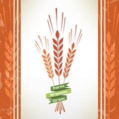 grain vector symbol