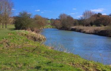 Along the Medway at East Farleigh