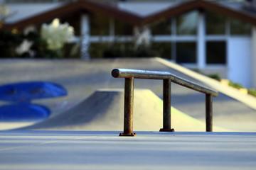 Rail tube, skate park