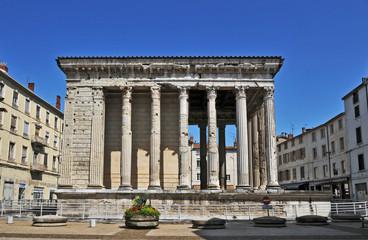Vienne, il tempio di Augusto, Rodano Alpi