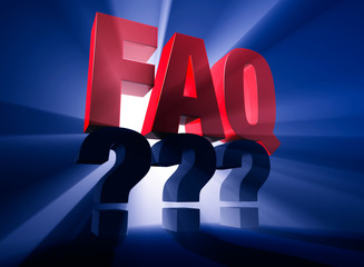Brightly Backlit FAQ Over Questions