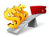 Money Outweighs Votes poster
