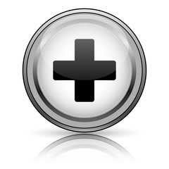 Medical cross icon