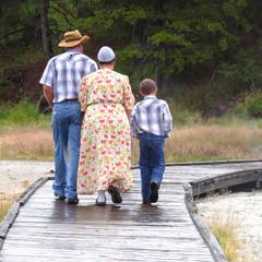 Yellowstone National Park - Mennonite tourists
