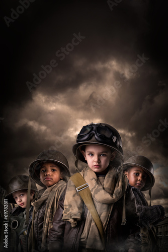 Boy Soldiers Poster