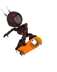 Android skateboarder