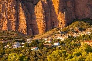 Mallos de Riglos in Huesca Aragon, Spain