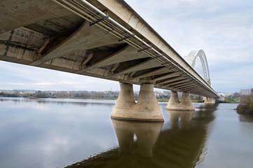 The Lusitania Bridge  in Mérida