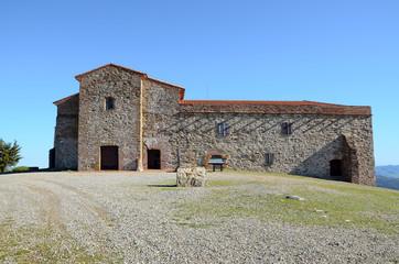 Tentudía monastery facade