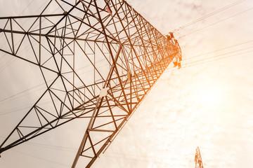 .High-voltage tower