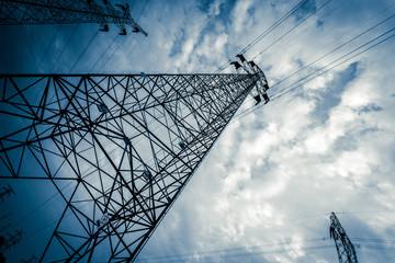 High voltage tower