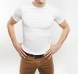 guy in white T-shirt
