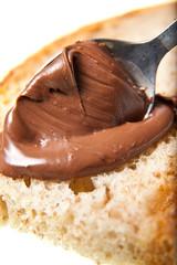 Choccolate spoon