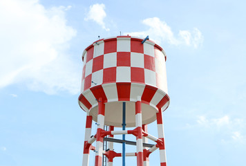 Water supply tank tower
