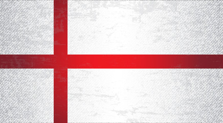 England Flag Art Background