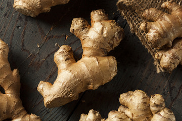 Raw Organic Ginger Root