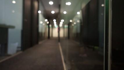 Dark Empty office