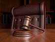 canvas print picture - Judges office