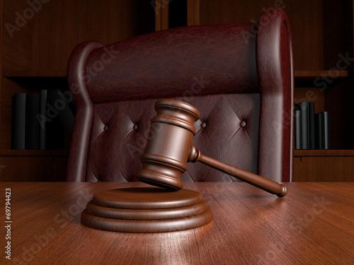 canvas print picture Judges office