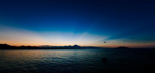 Sundown over Java