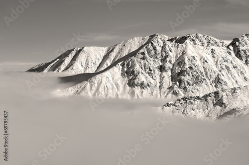 Krajobraz górski, zima - 69795437