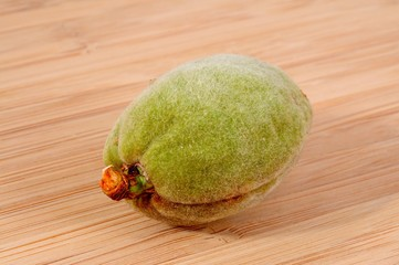 Almond in green casing © Arena Photo UK