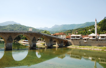 Old Stone Bridge in Konjic