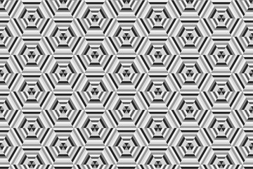 Hexagonal Abstract Design