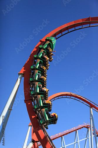 Leinwanddruck Bild parque de atracciones ocio 0916-f14