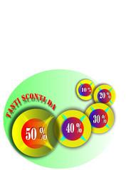 Sconti e percentuali Italia