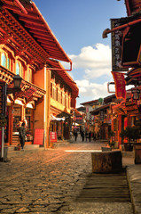 Dukezong is a thousand years of history of the town