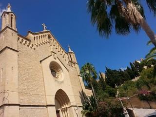 church in arta, mallorca,spain