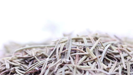 HD footage, Macro dried rosemary, loopable