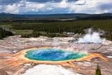 USA - Yellowstone NP, prismatic pool