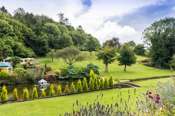 Cockington Village Garden near Torquay, Devon, England