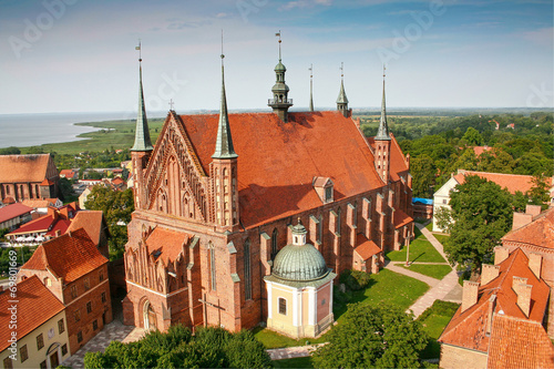 Fototapety, obrazy : Frombork Cathedral,  place of burial Nicolaus Copernicus
